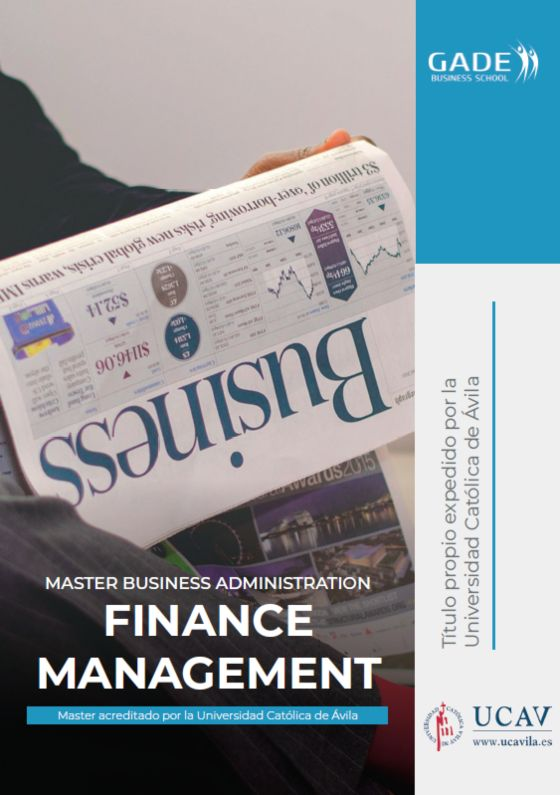 Programa completo - Máster Business Administration Finance Management acreditado por la UCAV