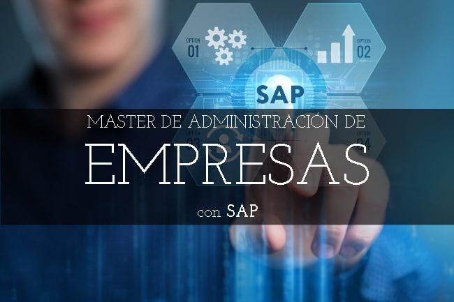Máster de Administración de Empresas con SAP