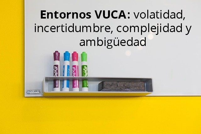 Entornos VUCA: volatidad, incertidumbre, complejidad y ambigüedad