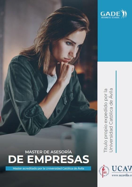 Programa completo - Máster de Asesoría de Empresas acreditado por la UCAV